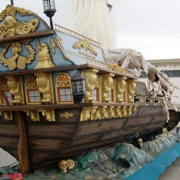 carroza desfile piratas