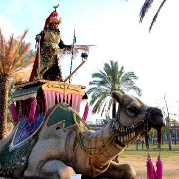 carroza camella moros y cristianos