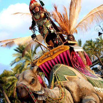 carroza camella reyes magos