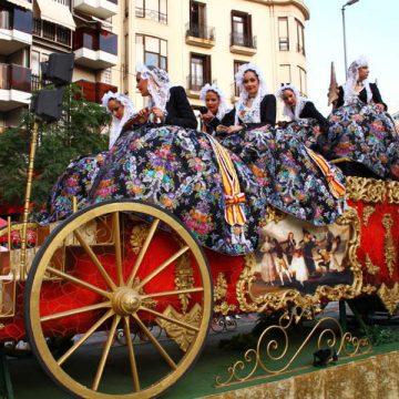 carroza carruaje desfiles