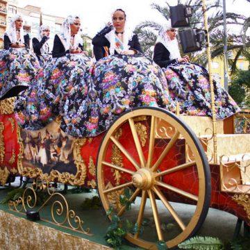 carroza de desfile carruaje