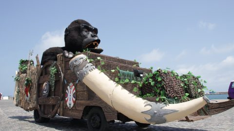 carroza gorila