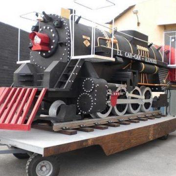 carroza locomotora a vapor