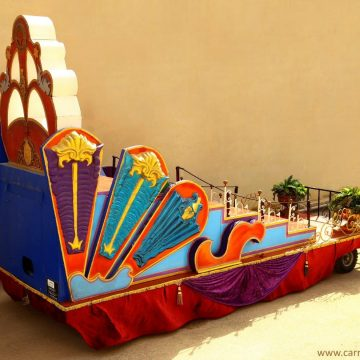 carroza para desfiles fantastica