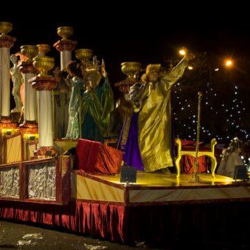 carroza para desfiles templo