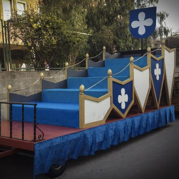 carroza para eventos esmeralda