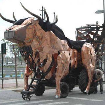 carroza para ferias toro