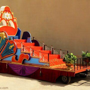 carroza para fiestas fantástica