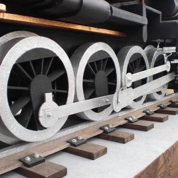 carroza tren a vapor
