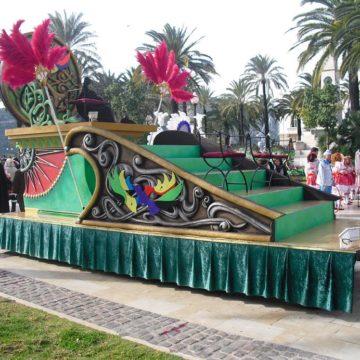 carroza modelo verde