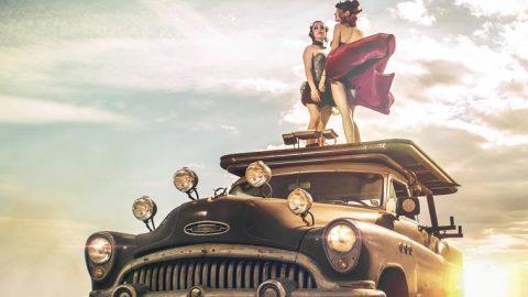 coche de película futurista (Copy)