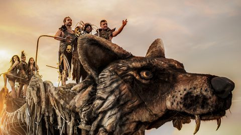 lobo marino escultura gigante para desfile (Copy)