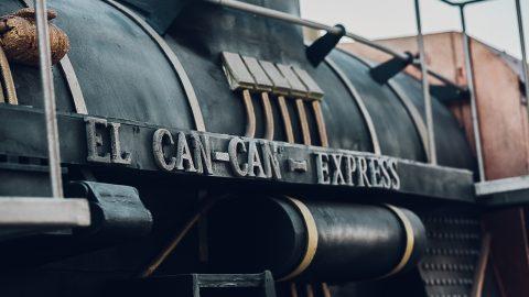tren a vapor antiguo