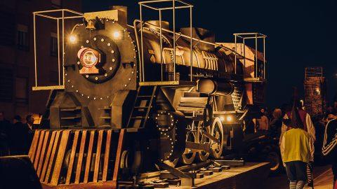 viejo tren a vapor