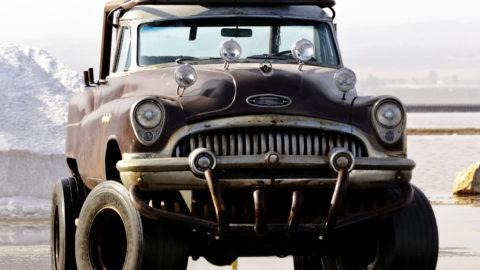 vehículo para festivales